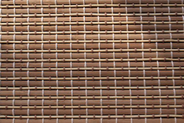 B 006 kolekcja mat drewnianych i bambusowych