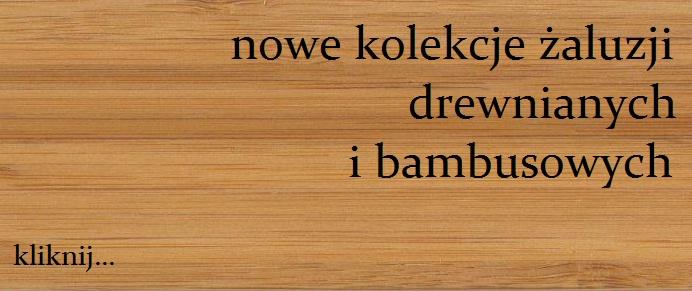 bambus 5041 żaluzje drewniane, bambusowe